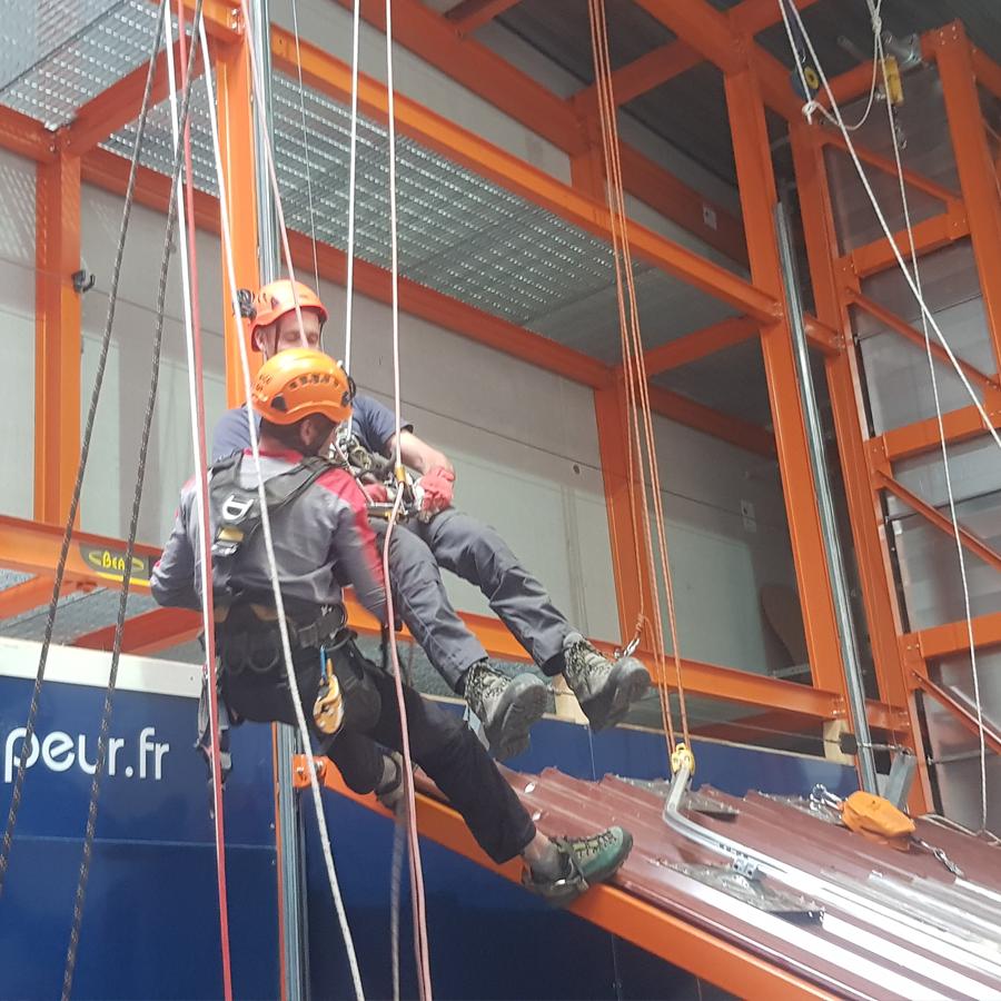 Formation secours spécifique sur corde