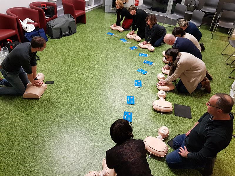 initiation aux gestes de premiers secours lyon